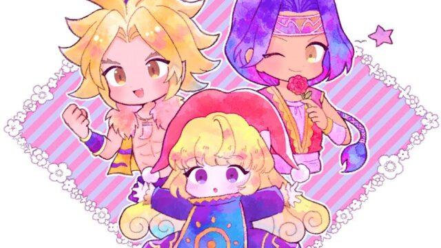 この3人かわいい