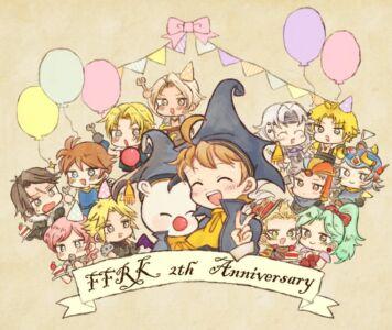 FFRK2周年おめでとう♡