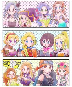 ロマサガRSの女の子たち